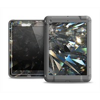 The Abstract Shattered Crystal Pattern Apple iPad Mini LifeProof Fre Case Skin Set