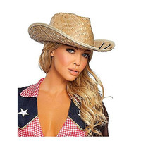 Roma Womens Halloween Party Costume Cowboy Hat