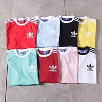Adidas Originals Tri-Color Stripe T-shirt F