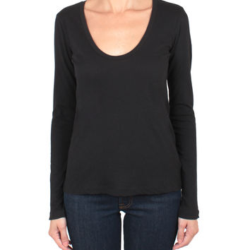 James Perse Cotton casual t-shirt