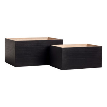H&M 2-pack Small Wooden Boxes $17.99