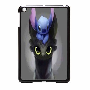 Stitch And Tootless How To Train Your Dragon iPad Mini Case