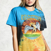 Led Zeppelin Tie-Dye Band Tee