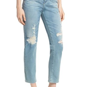 AG 'The Phoebe' Vintage High Rise Straight Leg Jeans (18 Years Headlands) | Nordstrom