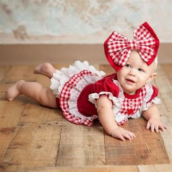 2018 Fall Haute Baby A Is For Apple Infant Bloomer Set Pre Order