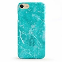 Beautiful Teal Blue Seaglass Case