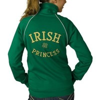 Irish Princess Custom Track Jacket St. Patricks from Zazzle.com