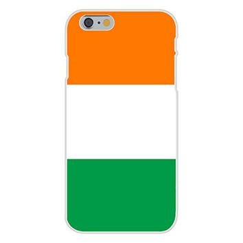 Apple iPhone 6 Custom Case White Plastic Snap On - Ireland - World Country National Flags