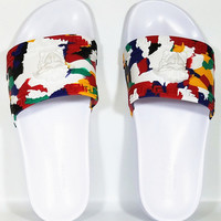 VERSACE Casual Fashion Women Multicolor Sandal Slipper Shoes