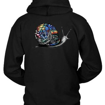 Pink Floyd Gravity As Snail Colour Hoodie Two Sided