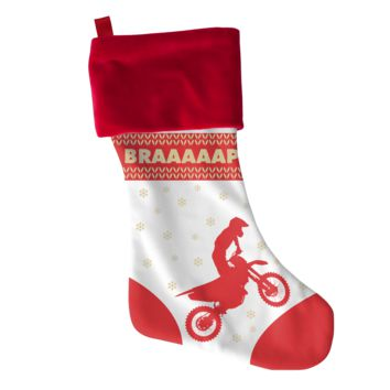 Braaap Christmas Stocking