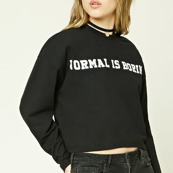 Normal Is Boring Graphic Tee