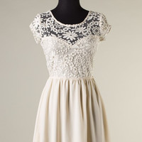 Coming Back in Stock Soon! Always and Forever Dress - Cream