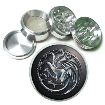 Game of Thrones Seal 1 4Pc Aluminum Tobacco Spice Herb Grinder