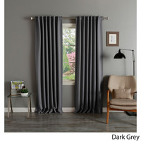 Aurora Home Insulated Thermal Blackout 84-inch Curtain Panel Pair | Overstock.com Shopping - The Best Deals on Curtains