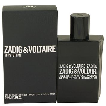 This Is Him Eau De Toilette Spray By Zadig & Voltaire For Men