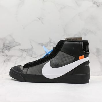 Off-White x Nike Blazer Mid ¡°Grim Reepers¡± Casual Sneaker
