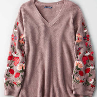 AE Soft & Pretty Sweater, Rose