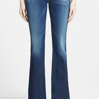 Petite Women's 7 For All Mankind 'Lexie' Bootcut Stretch Jeans (Aggressive Siren)