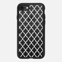MAROCCO WHITE CRYSTAL CLEAR iPhone 7 Hülle by Monika Strigel | Casetify