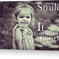 """Smile."" Greeting Cards & Postcards by Shad Kingston 