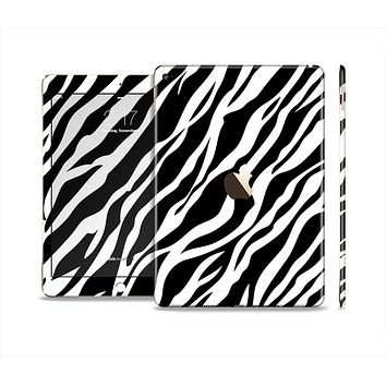 The Simple Vector Zebra Animal Print Skin Set for the Apple iPad Pro