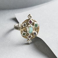 Free People Rain Free Diamond x Sapphire Mix Ring