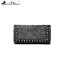Montana West MW175-W002 Tooled Wallet