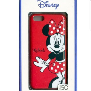 1 Disney Minnie Mouse iphone 5c Hard Shell Case