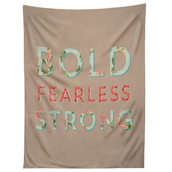 Allyson Johnson Bold Fearless And Strong Tapestry
