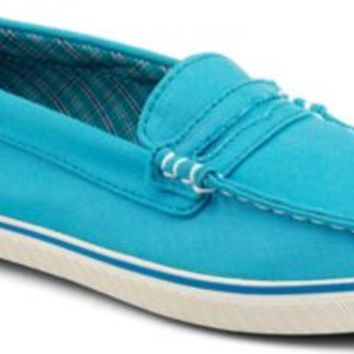 Sperry Top-Sider Cloud Logo Phoenix Penny Loafer BachelorBlueCanvas, Size 10M  Women's Shoes