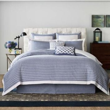 Real Simple® Soleil Pillow Sham in Navy