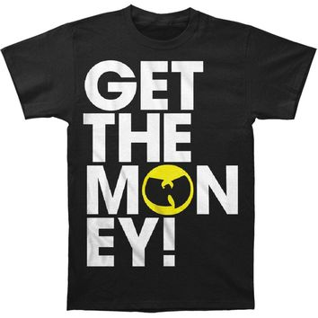 Wu Tang Clan Men's  Get The Money! T-shirt Black