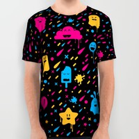Cute Color Stuff All Over Print Shirt by Badbugs_art | Society6