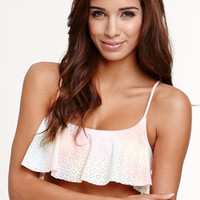 LA Hearts Ruffle Top at PacSun.com