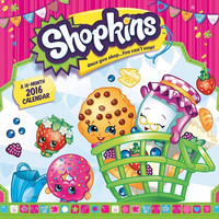 Shopkins 2016 Wall Calendar