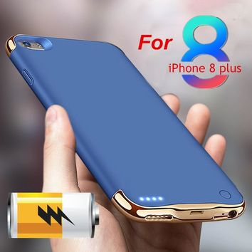 Travel Portable Mobile Power Bank Backup Battery for Iphone X 10 8 8 Plus 7 7 Plus Luxury Fashion Outdoor Emergency Charger Fast
