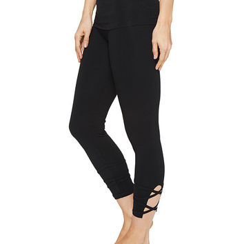Hard Tail Contour Rolldown Wrap Around Capri Leggings