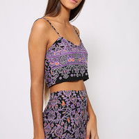 Motel - Jinx Crop Top - Agra Violet