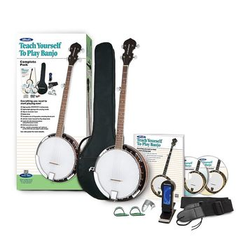 Alfred's Teach Yourself to Play Banjo Starter Pack (Mahogany/Rosewood)