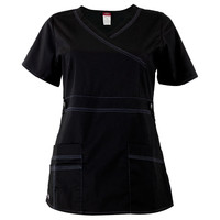 Dickies - Black Women's Scrub Top