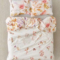 Wildflower Garden Reversible Duvet Cover | Urban Outfitters