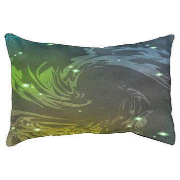 Abstract Swirls Dog Bed