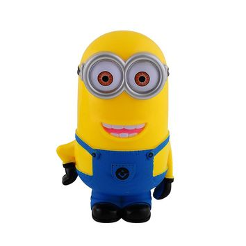 New Minion Lovely 3D Minions Cartoon Figures Piggy Bank Money Box hucha Saving Coin Cent Penny Children Toy alcancia Baby toy B5