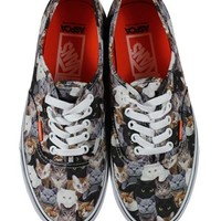 Vans ASPCA Cats Authentic Trainers - Buy Online at Grindstore.com