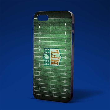 American football field pattern green for iPhone 4/4s,iPhone 5/5s,5c,6 samsung galaxy S3,S4,S5, hard case
