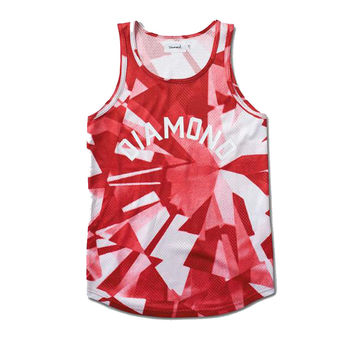 Diamond Supply Co. - Simplicity Basketball Jersey - Red