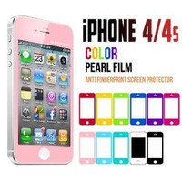 iPhone 4S Screen Protector, Caseology [HD Clarity] Apple iPhone 4/4S Screen Protector [2-Pack] [Pink] [3-Month Warranty] Color Film [Crystal Clear] Front Screen Protection iPhone 4/4S Screen Protector (for Apple iPhone 4/4S Verizon, AT&T Sprint, T-mobile,
