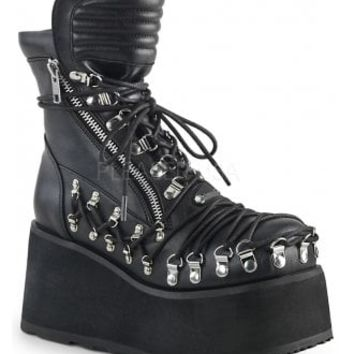 Demonia Clash 150 Platform Boot | Attitude Clothing