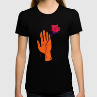 Wounded Hand // Space T-shirt by duckyb